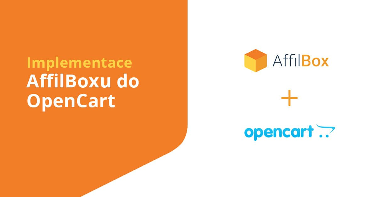 Implementation of AffilBox into OpenCart