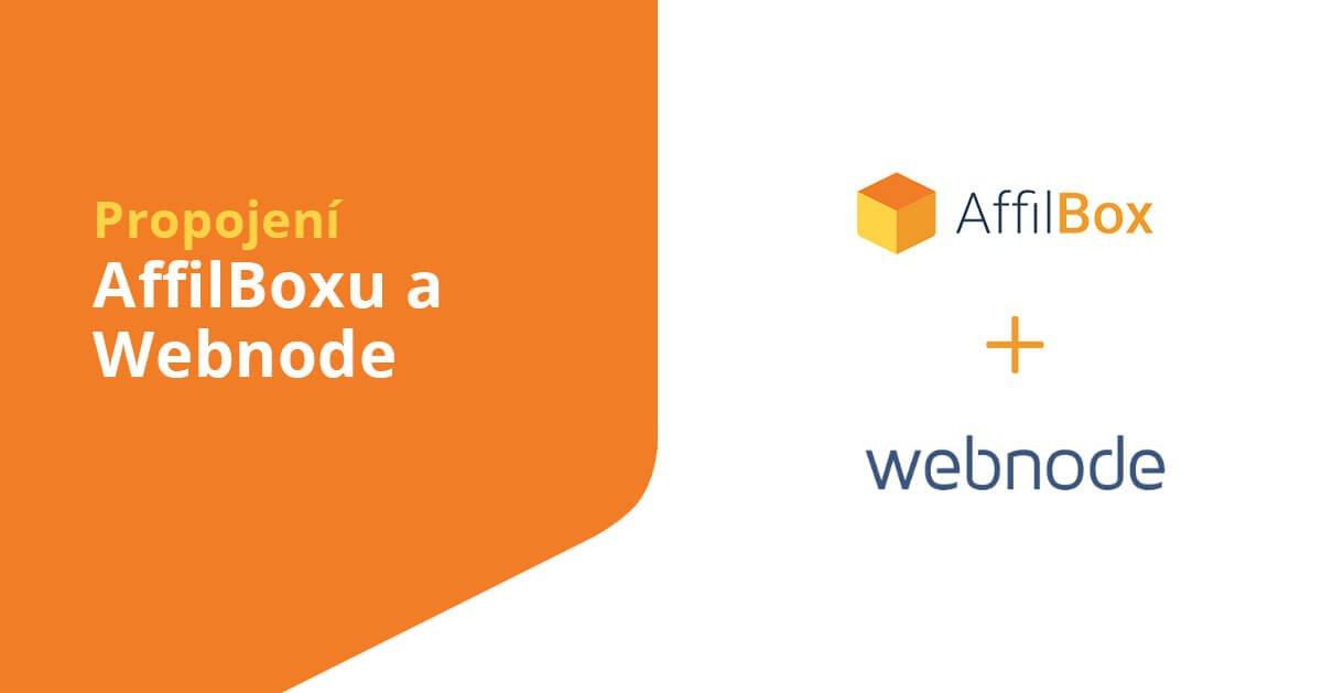 Implementing AffilBox in Webnode e-shop