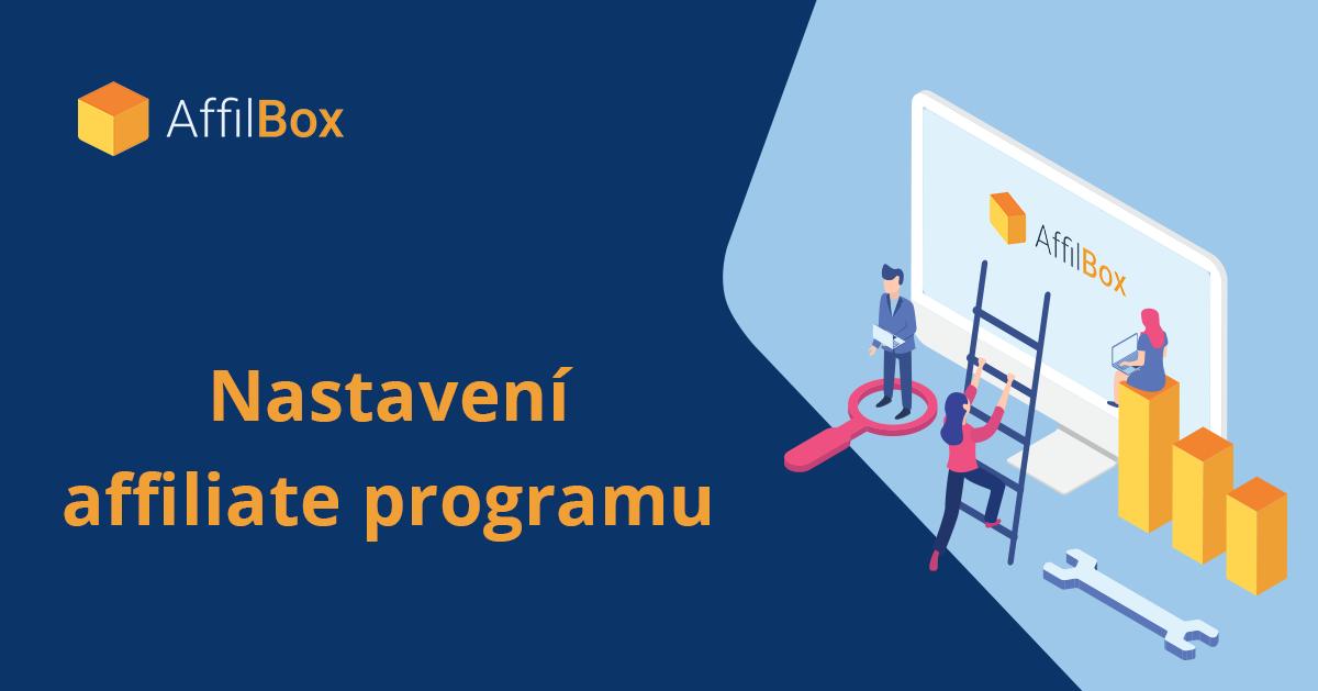 Nastavení affiliate programu AffilBox
